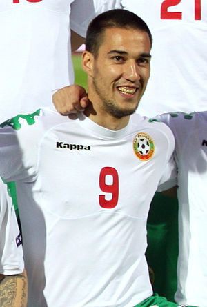 Ivelin Popov - Popov with Bulgaria in 2011