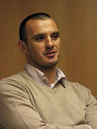 FK Partizan - Goalkeeper Ivica Kralj.
