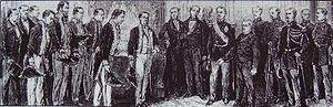Iwakura Mission - Image: Iwakura Mission President Thiers 1873