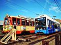 Iyo railway MoHa 50 series ^ MoHa 2100 series, dogo - panoramio.jpg