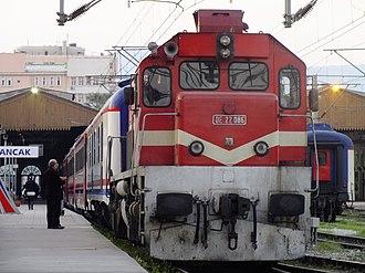 İzmir Blue Train - Image: Izmir Mavi at Alsancak
