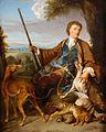 Jäger mit Hunden und erlegtem Wild 18 Jh.jpg