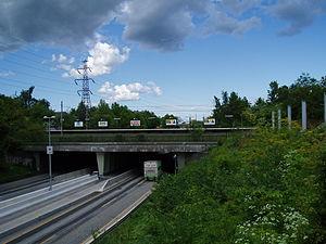 Jægersborg station - Image: Jægersborg st