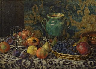 Still Life with a Green Pitcher