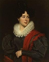 Portrait of Maria Suzanna de Vries (1804-1836)