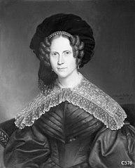 Jonkvrouwe Suzanna Catharina Henrica van der Dussen (1790-1848). Echtgenote van Hendrik Baron van Slingeland