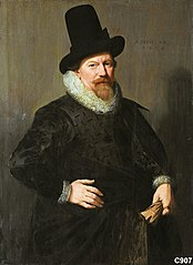 Portrait of Jan Martensz Merens (1574-1642)