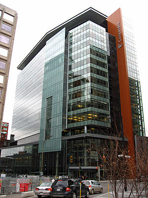 John Molson School of Business - Completed in 2009, the Molson Building houses the John Molson School of Business