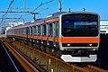 JR East e231 series Musashino Line 20171127.jpg