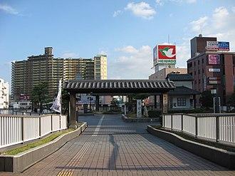 Kusatsu, Shiga - JR Kusatsu Station east gate