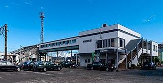 Minami-Nobeoka Station Railway station in Nobeoka, Miyazaki Prefecture, Japan