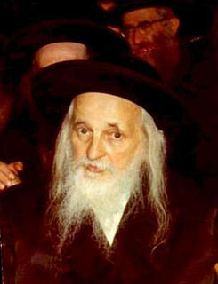 Joel Teitelbaum Grand Rebbe of Satmar Hasidim, opponent of Zionism
