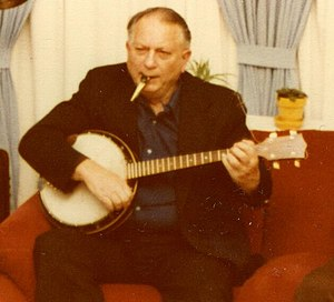 Jack Vance playing the jazz banjo and kazoo in...