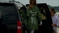 File:Jacket Message Overshadows First Lady's Visit to Migrant Children.webm