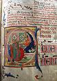 Jacopo del casentino e maestro delle effigi domenicane (attr.), antifonario (cod. A), 1300-50 ca., da pieve di s. ippolito 02.JPG