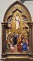 Jacopo di cione e bottega, cimasa dell'altare di san pier maggiore, 1370-71, 09 ascensione.jpg