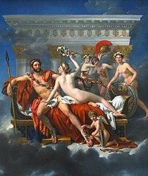 Жак-Луј Давид: Mars Being Disarmed by Venus