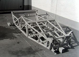 Space frame - Jaguar C-Type frame