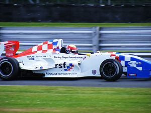 James Calado - Calado competing during the 2008 Formula Renault UK season at Oulton Park