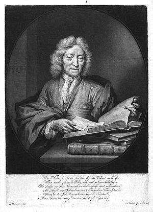Jan Pietersz Zomer - Jan Pietersz. Zomer (1641 - 1726) (Nicolaas Verkolje, 1717)
