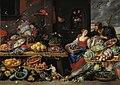 Jan van Kessel d.Æ. - Fruit and Vegetable Market with a Young Fruit Seller - KMSsp299 - Statens Museum for Kunst.jpg