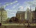 Jan van der Heyden - The Dam in Amsterdam with the Nieuwe Kerk.jpg