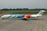 Japan Air System MD-90-30 JA8064 (31311029472).jpg