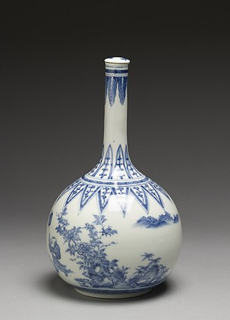 Sake - Sake bottle, Japan, ca. 1740