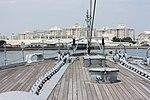 Japanese Battleship Mikasa at Yokosuka - 2013 - fore bridge.JPG