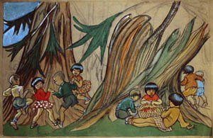 Olive Biller - Japanese Kindergarten (between 1934 and 1939, Private Collection)