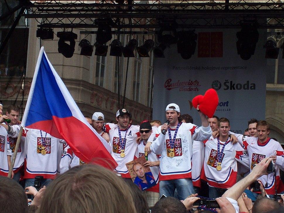 Jaromír Jágr, ice hockey champion 2010
