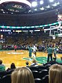Jason Terry with the Boston Celtics warming up pregame 2013-05-19 21-38.jpg