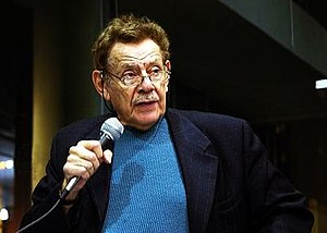 Jerry Stiller in New York City for a book read...