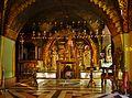Jerusalem Grabeskirche Innen Kreuzigungsaltar 1.JPG