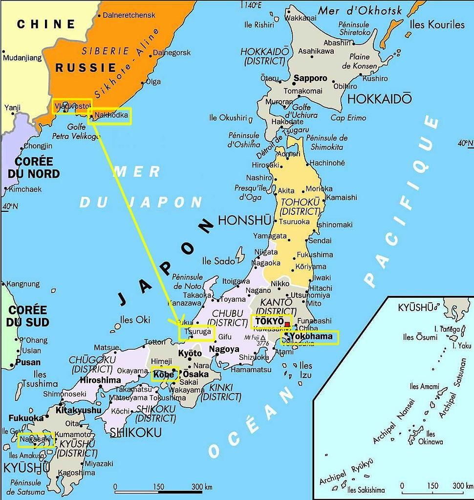 Jewish settlements in Japan