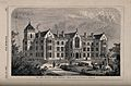 Jews' Hospital, Lower Norwood. Wood engraving by Walmsley, 1 Wellcome V0014050.jpg