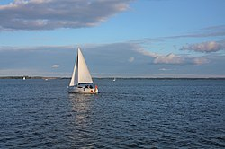 Sailing on Lake Niegocin