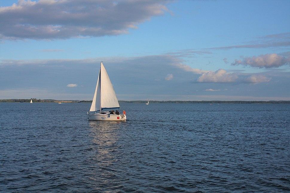 Sailing on Lake Niegocin