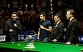 Jimmy White and Ronnie O'Sullivan at Snooker German Masters (DerHexer) 2015-02-08 04.jpg
