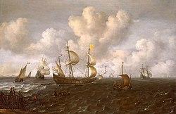 Jochem de Vries: A Dutch Ship Before the Wind