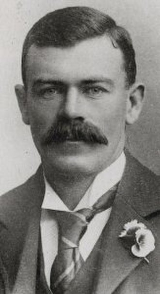 Joe Darling - Parliamentary portrait of Darling
