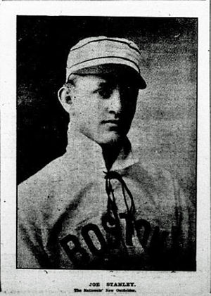 Joe Stanley (1900s outfielder) - Image: Joe Stanley Beaneaters