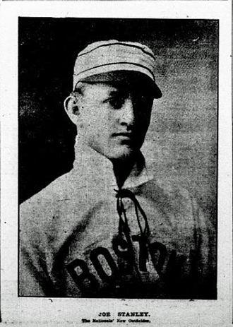 Joe Stanley (1900s outfielder) - Image: Joe Stanley Beaneaters