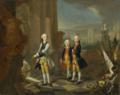 Johann Heinrich Tischbein - The three sons of Friedrich II of Hessen-Kassel.png