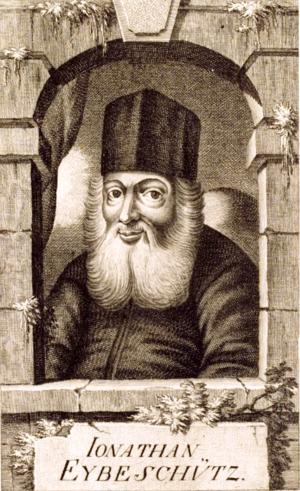 Jonathan Eybeschutz - Image: Johann Kleinhard and Johann Balzer. Jonathan Eybeschütz