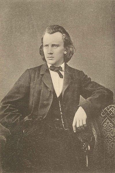 Johannes Brahms toen hij Ein deutsches Requiem schreef (1865-1868)