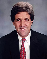 John Kerry Senate Photo