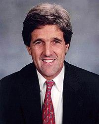 An earlier Senate portrait of Kerry