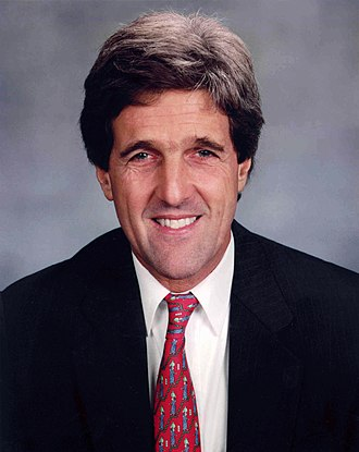 United States Senate Select Committee on POW/MIA Affairs - John Kerry, chair of the committee.