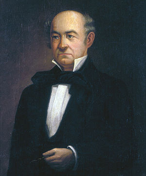 John L. Helm -  A portrait of John L. Helm painted by his granddaughter Katherine
